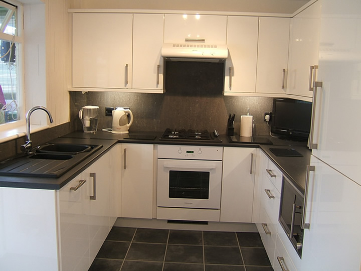 Grey Sparkle Kitchen Tiles